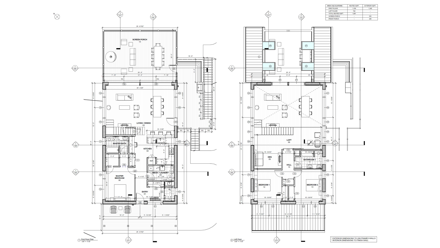 Blair Revit Floor Plan Lake Florence