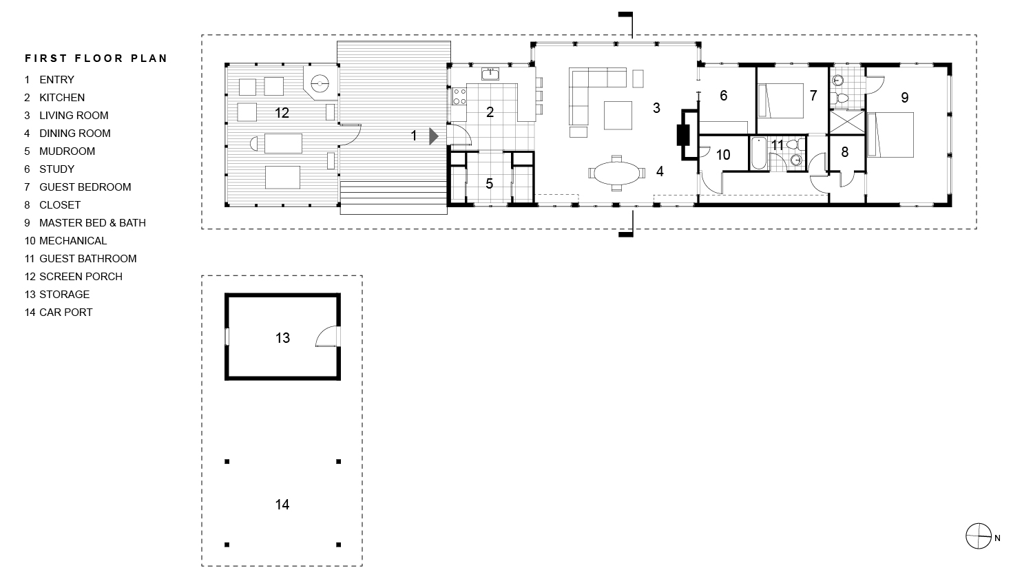 Dickerman First Floor Plan