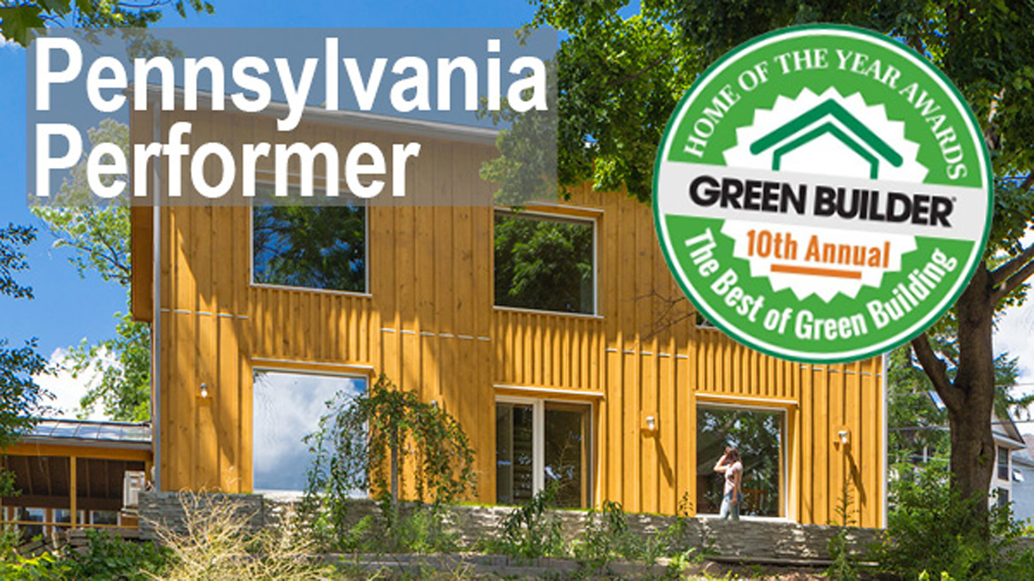 Scranton Passive House Green Builder Magazine Home of the Year Awards