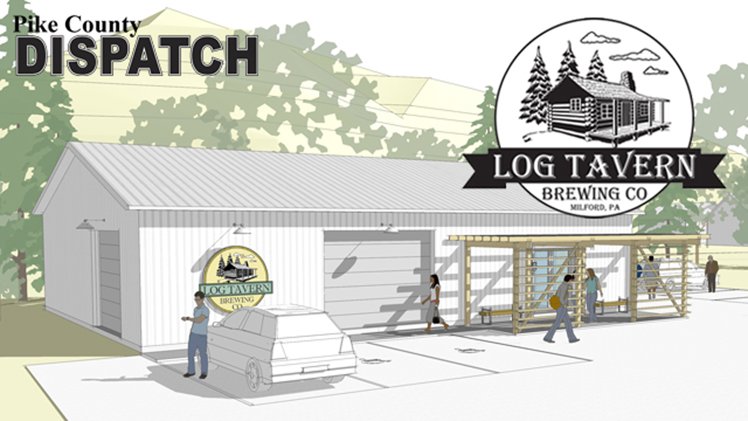Log Tavern Brewery Pike County Dispatch