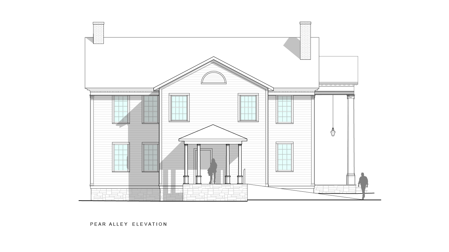 milford-community-house-pear-alley-elevation