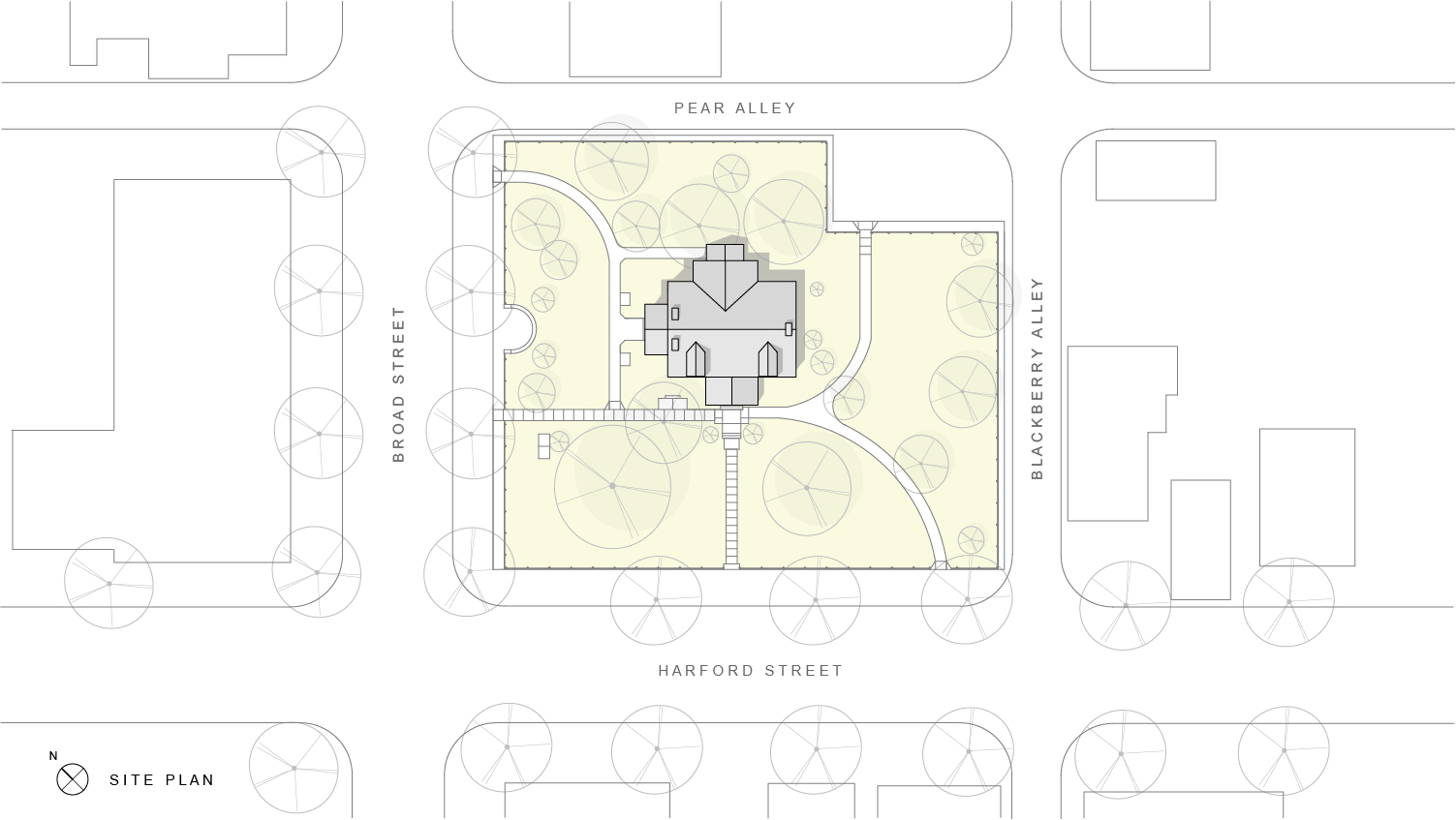 milford-community-house-restoration-site-plan