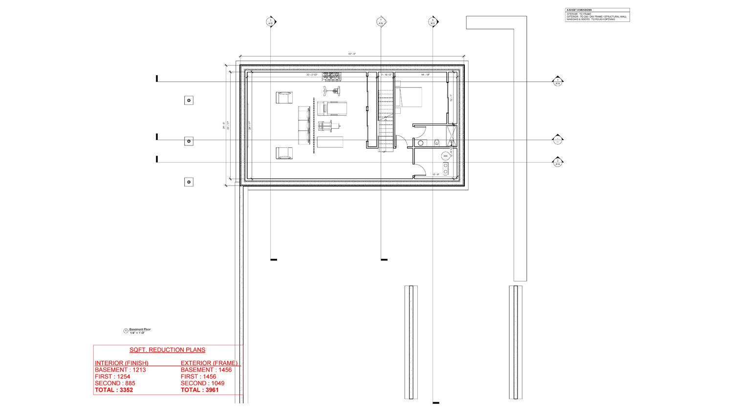 Mithran Basement Floor Plan
