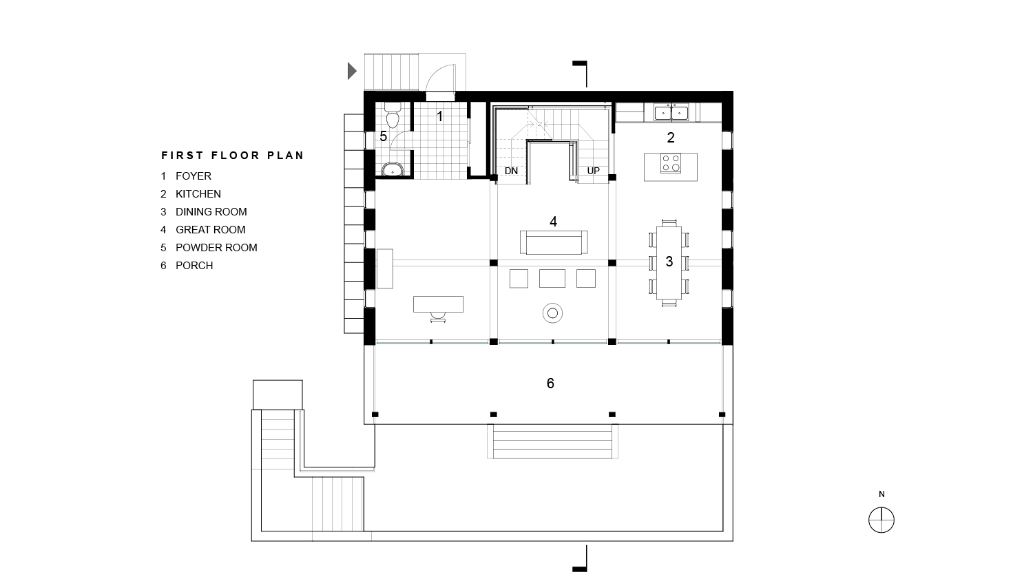 Mullane Residence First Floor Plan