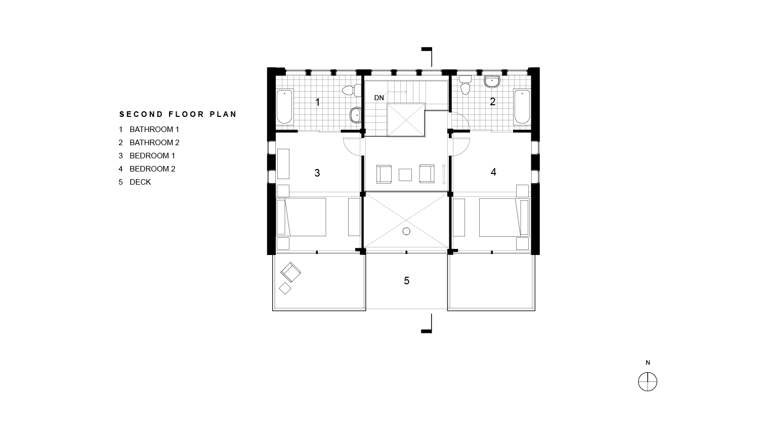 Mullane Residence Second Floor Plan