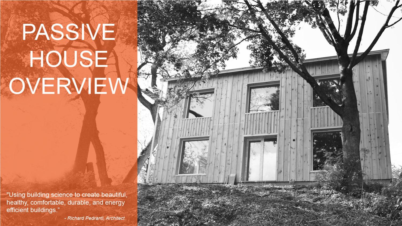 What's a Passive House – RPA | Richard Pedranti Architect