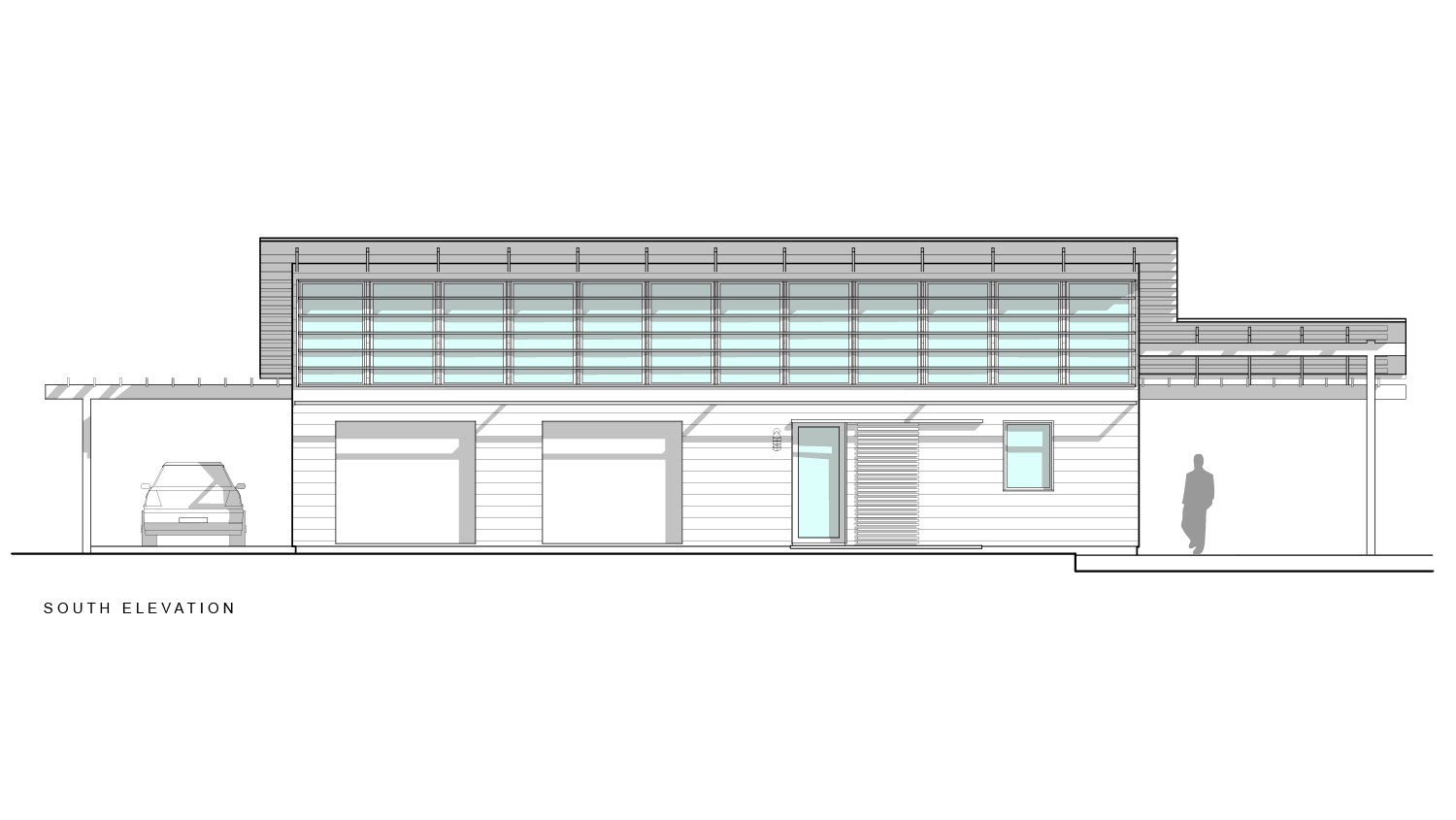 RPA Studio South Elevation