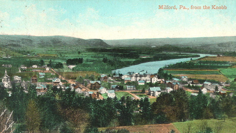 RPA Milford, PA from the Knobb