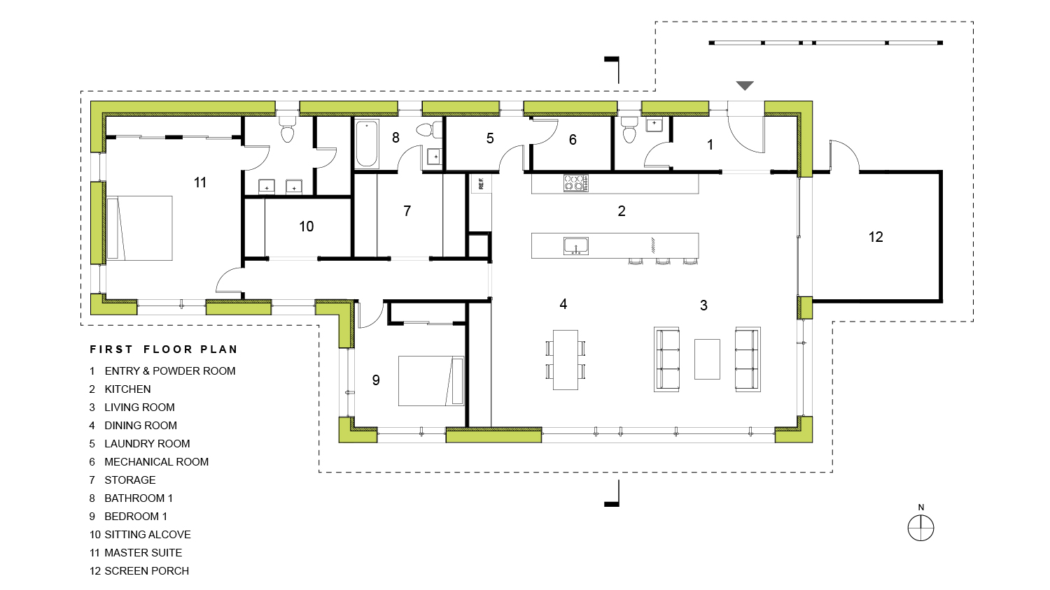 RPA PH-500 Floor Plan