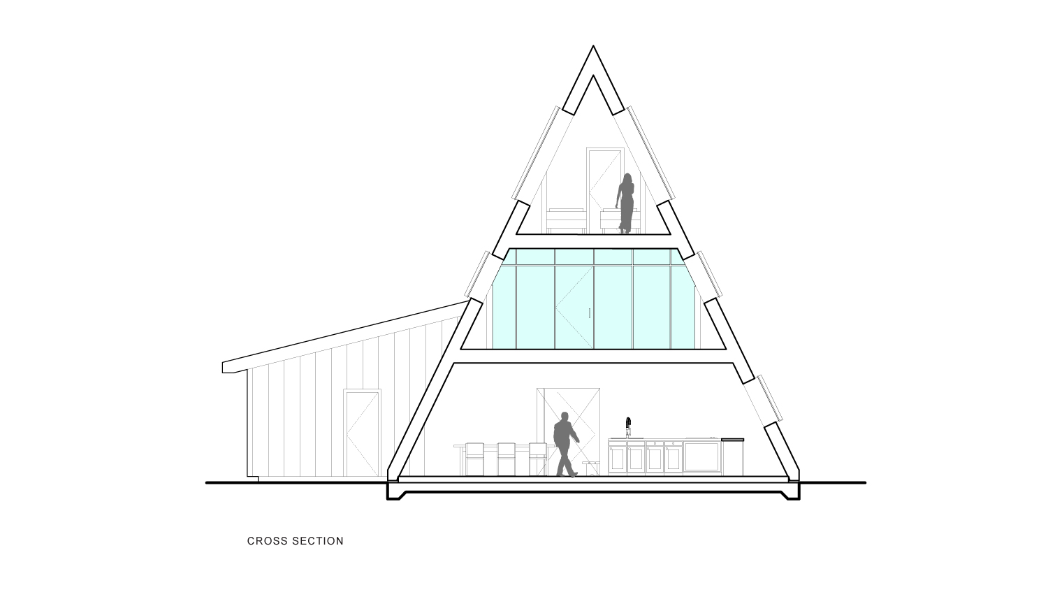 A-Frame Section B