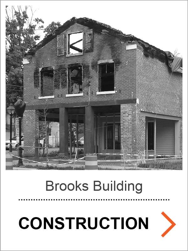 Brooks Building Construction Photos