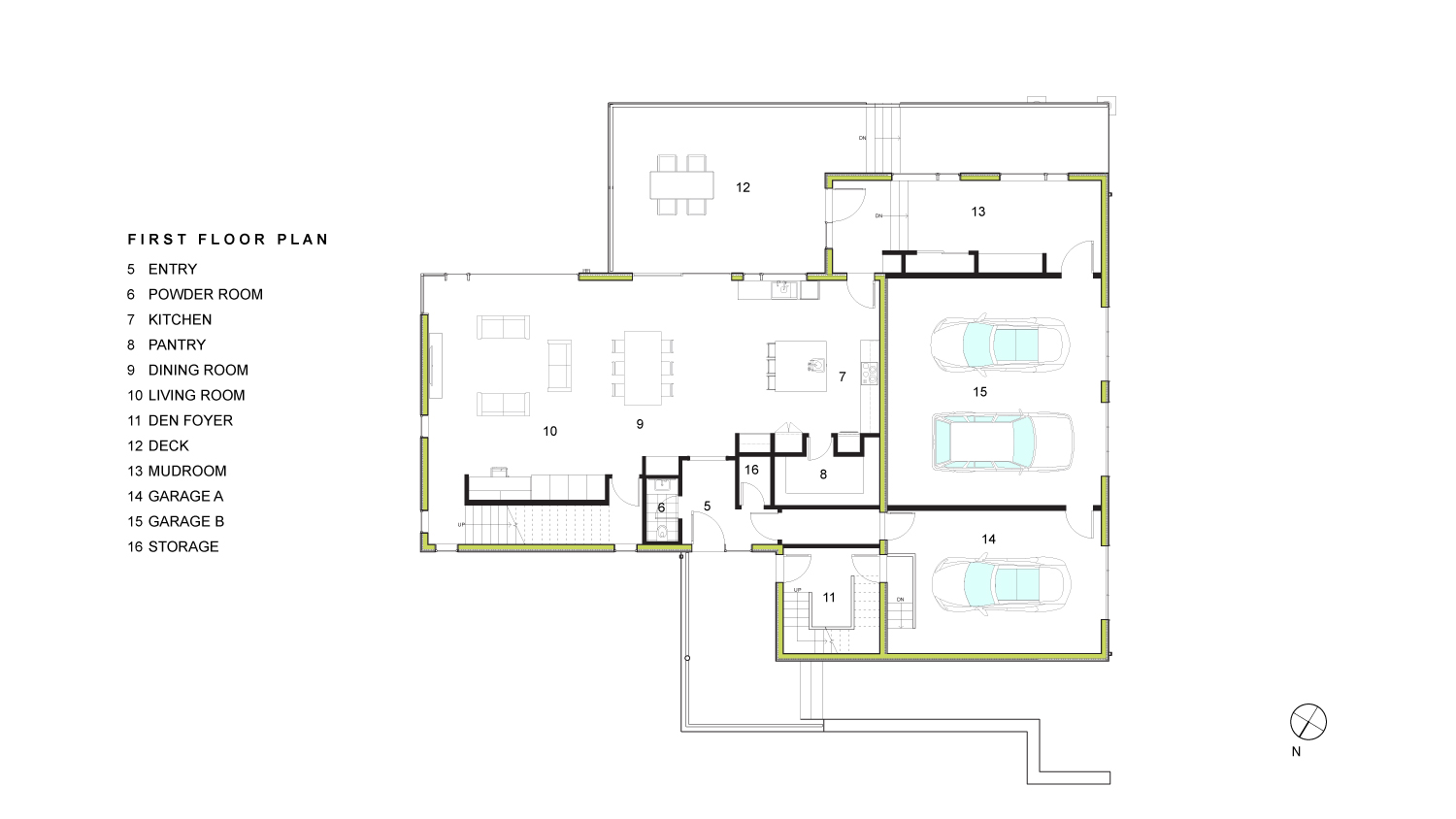 Chang First Floor Plan