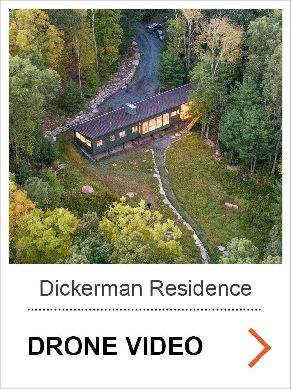 Dickerman Residence Drone Video