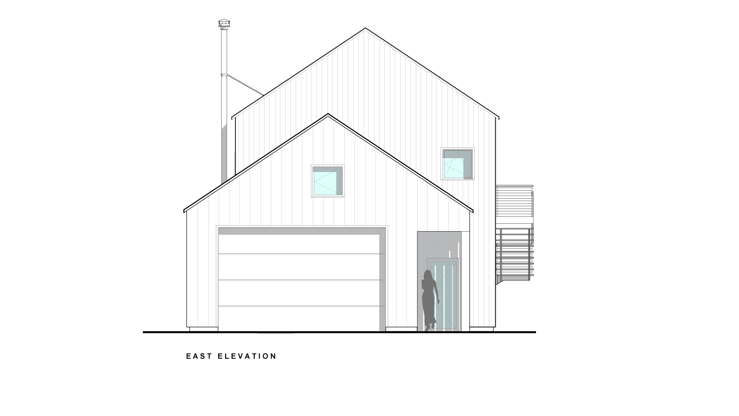 Reed East Elevations