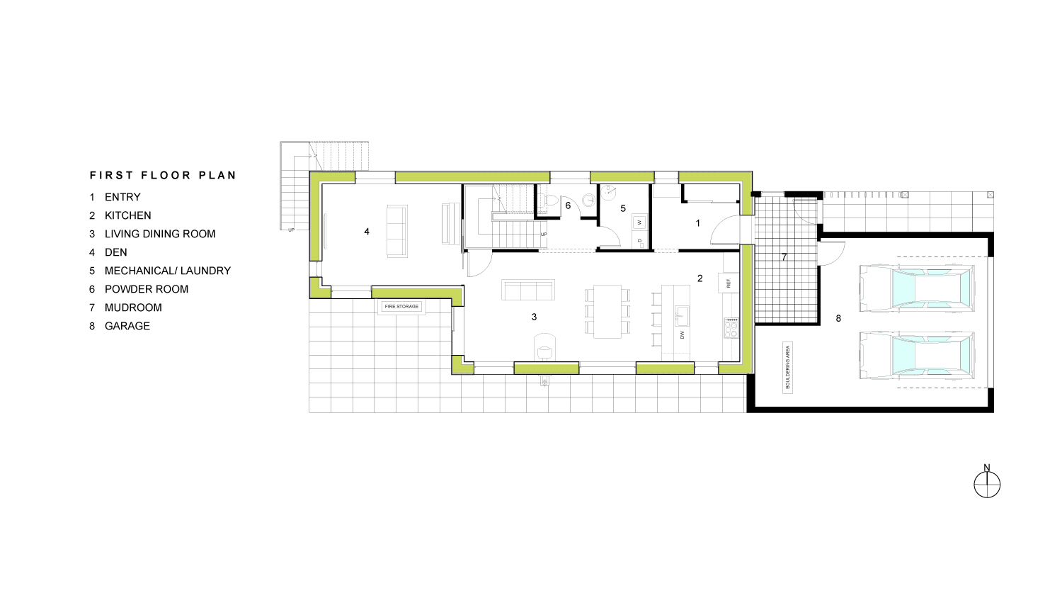 Reed First Floor Plan