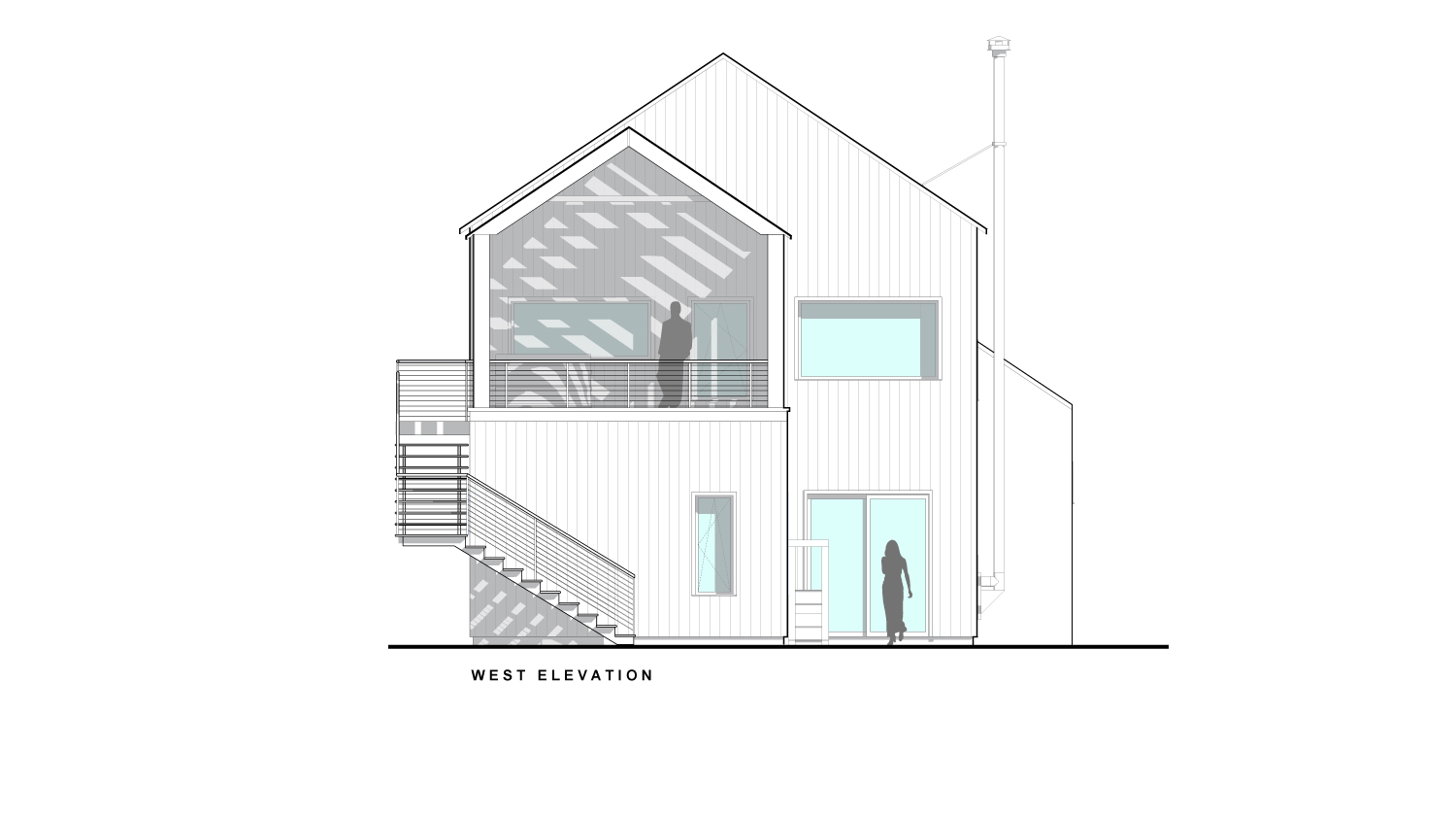 Reed West Elevation