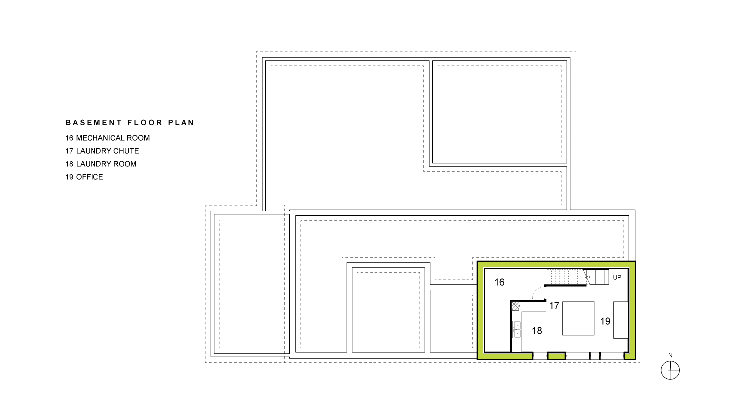 Irwin Basement Floor Plan