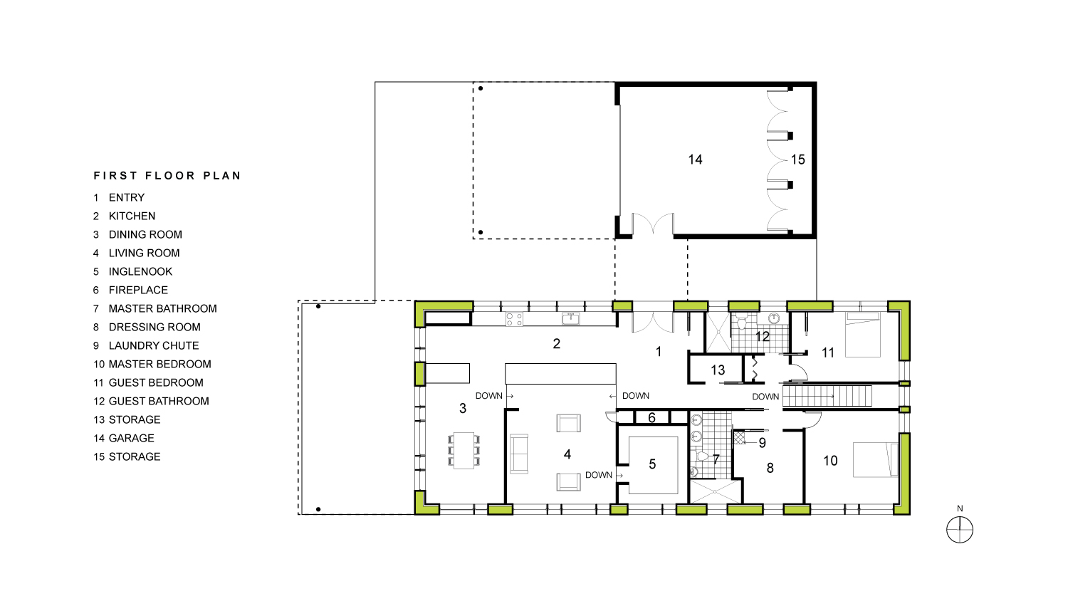 Irwin First Floor Plan