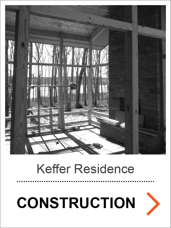 Keffer Passive House Construction Photos