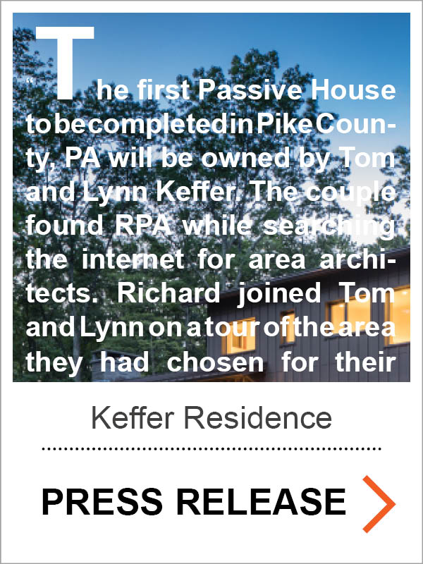 Keffer Passive House Press Release