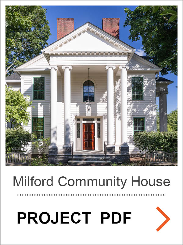 Milford Community House Restoration Project PDF