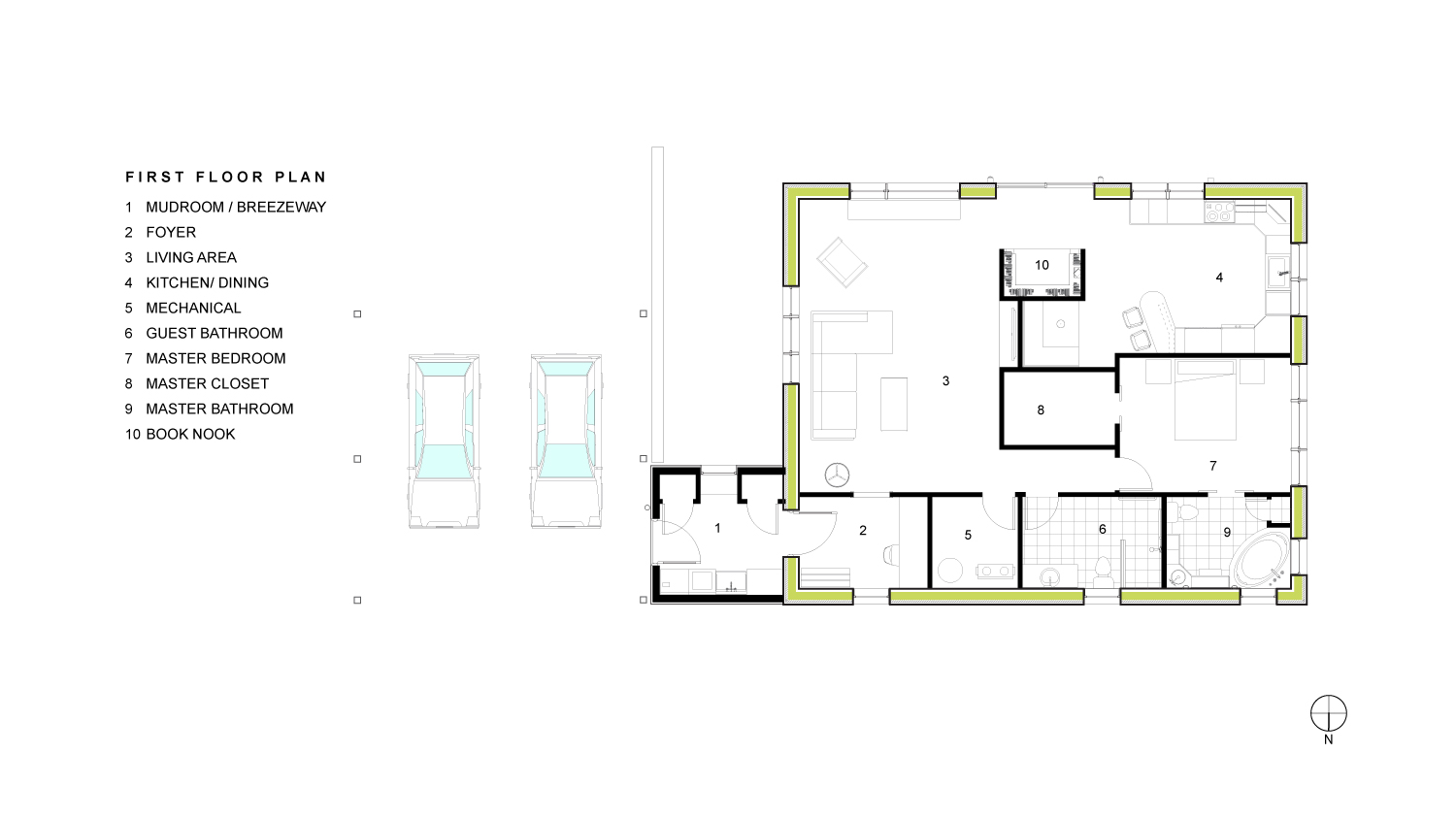 Minkoff First Floor Plan