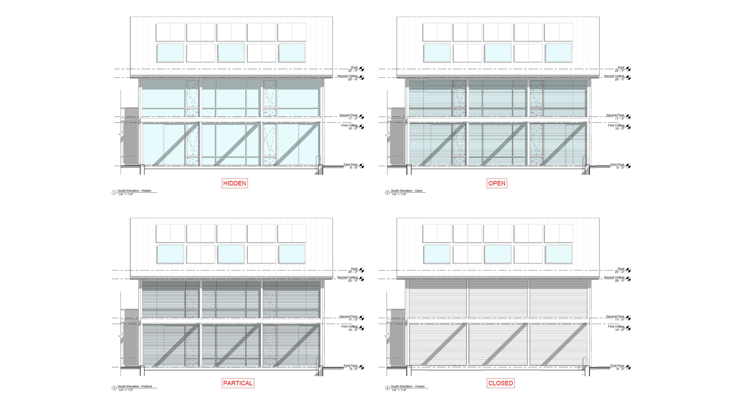 RPA Modern Barn Exterior Blind Study