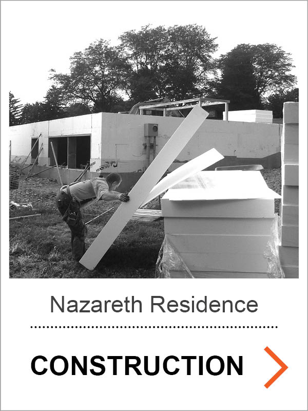 Nazareth Residence Construction Photos