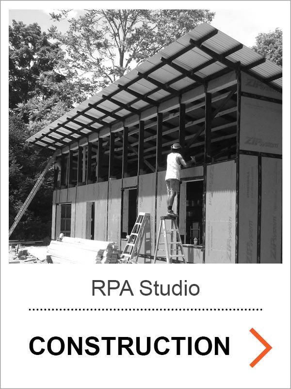 RPA Studio Construction Photos