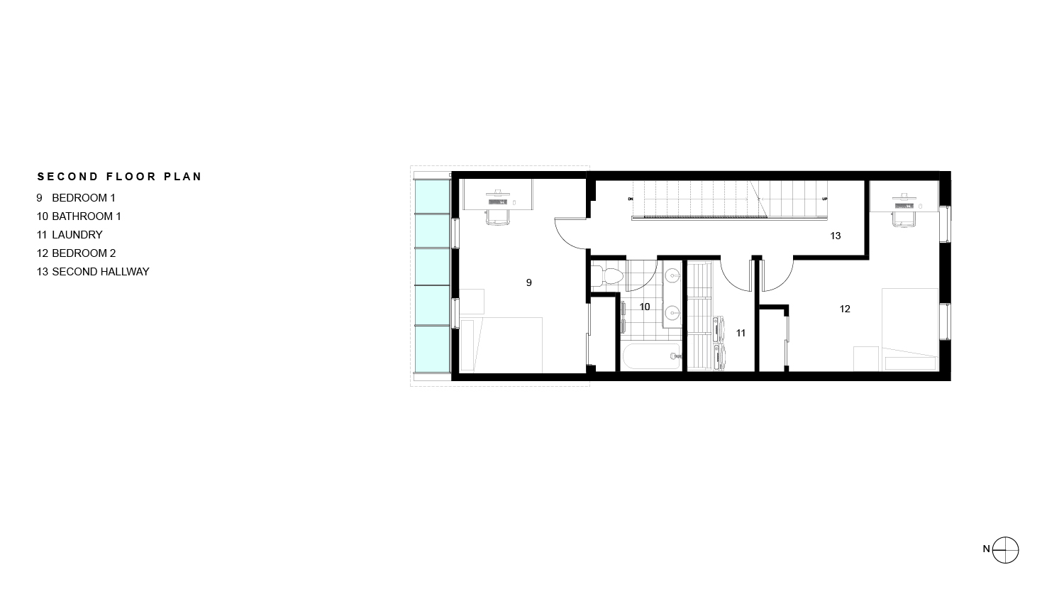 RPA Sabatino 17th Second Floor Plan 010318 01