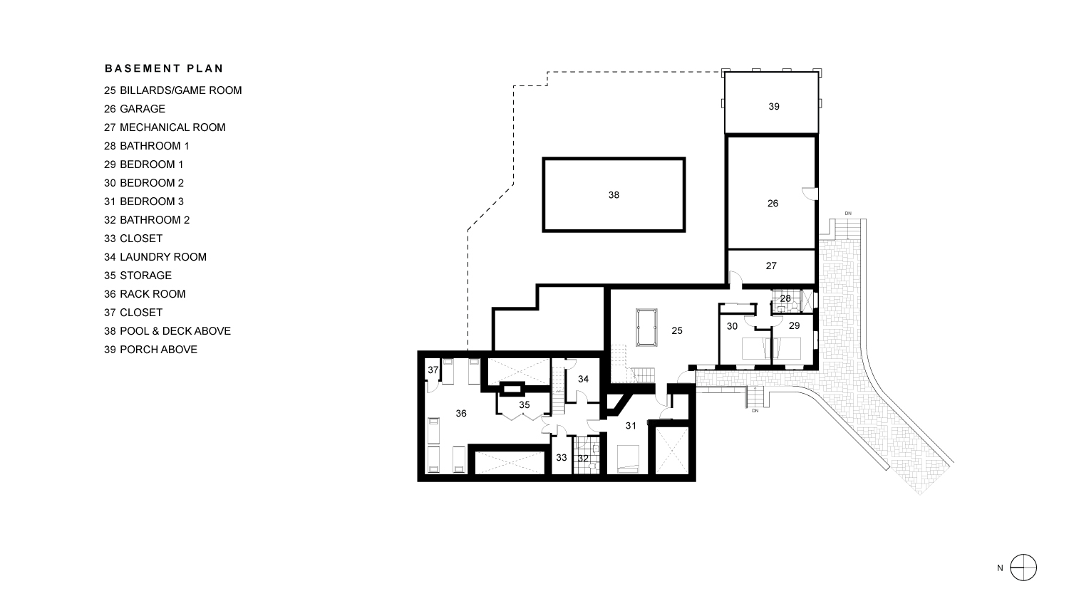 Sabatino Basement Floor Plan