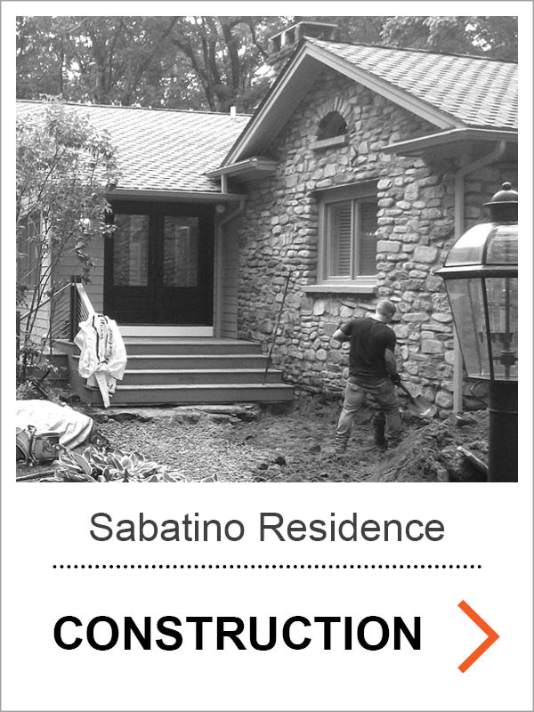 Sabatino Residence Construction Photos