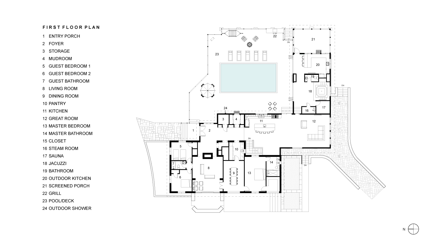 Sabatino First Floor Plan