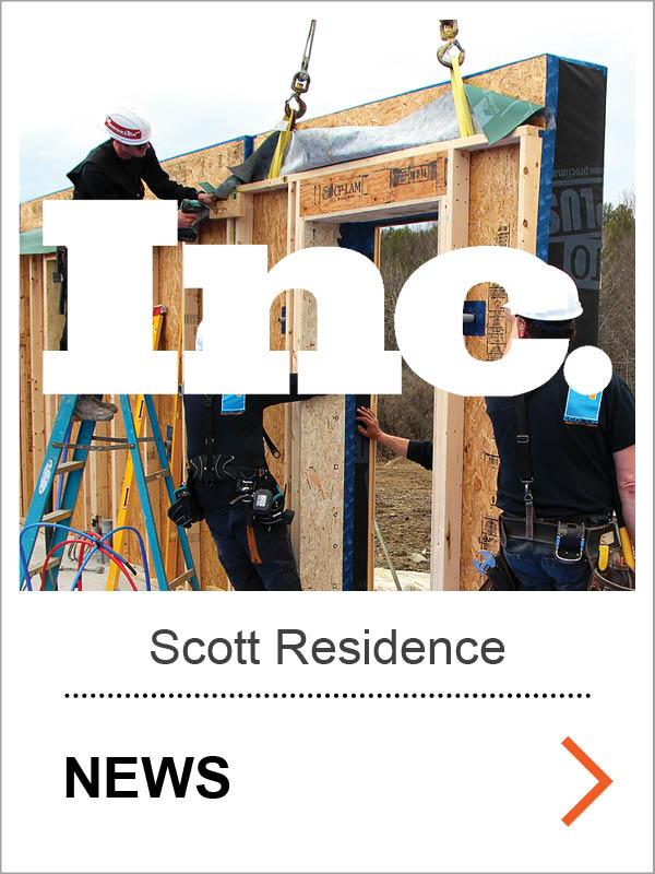 Scott Passive House Inc. News
