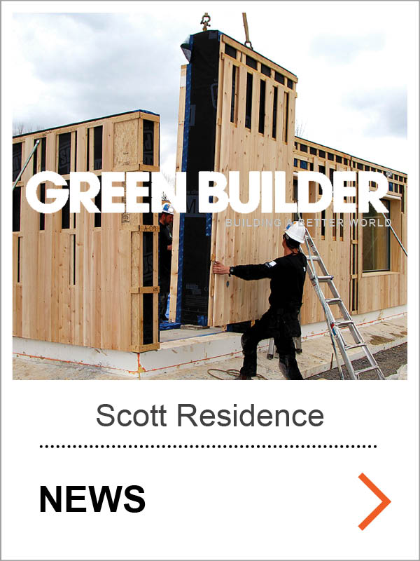Scott Passive House Green Builder Article