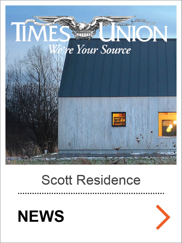 Scott Passive House Times Union News
