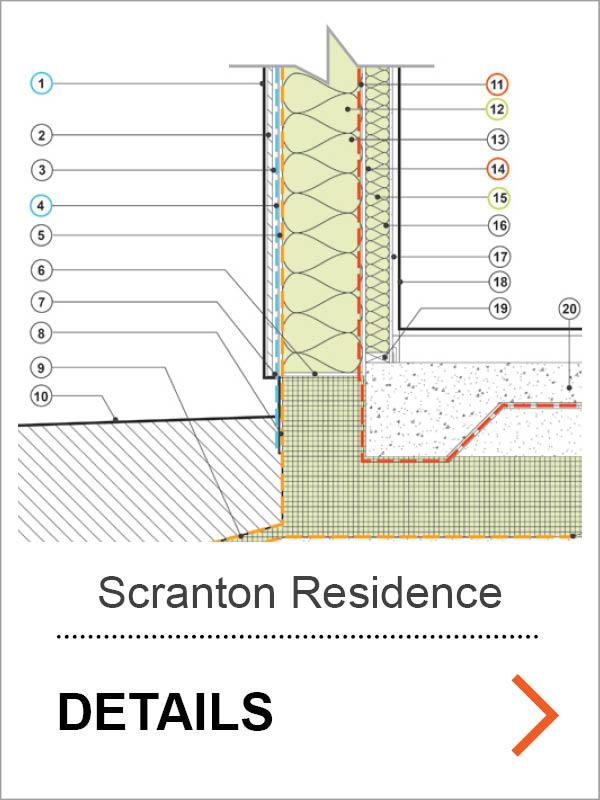 Scranton Passive House Detail