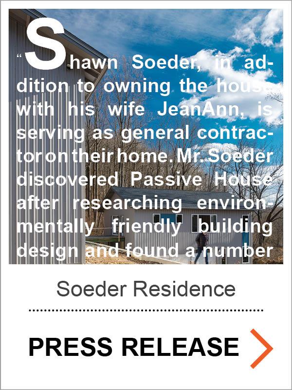 Soeder Passive House Press Release