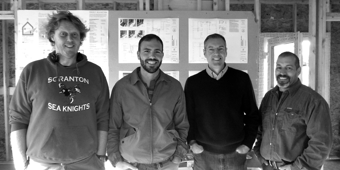 Part of Scranton Passive House Team