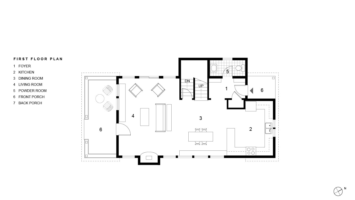 Sawkill Ave First Floor Plan