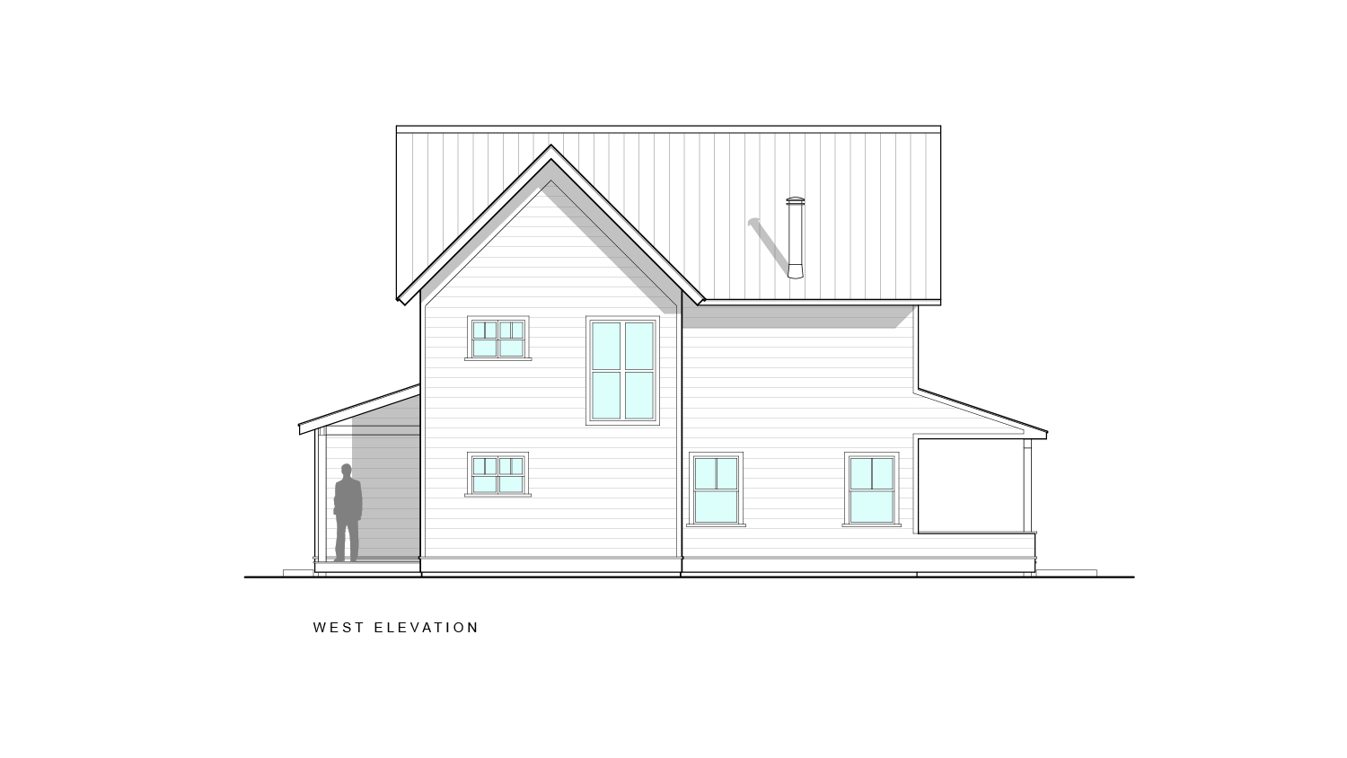 Sawkill Ave West Elevation
