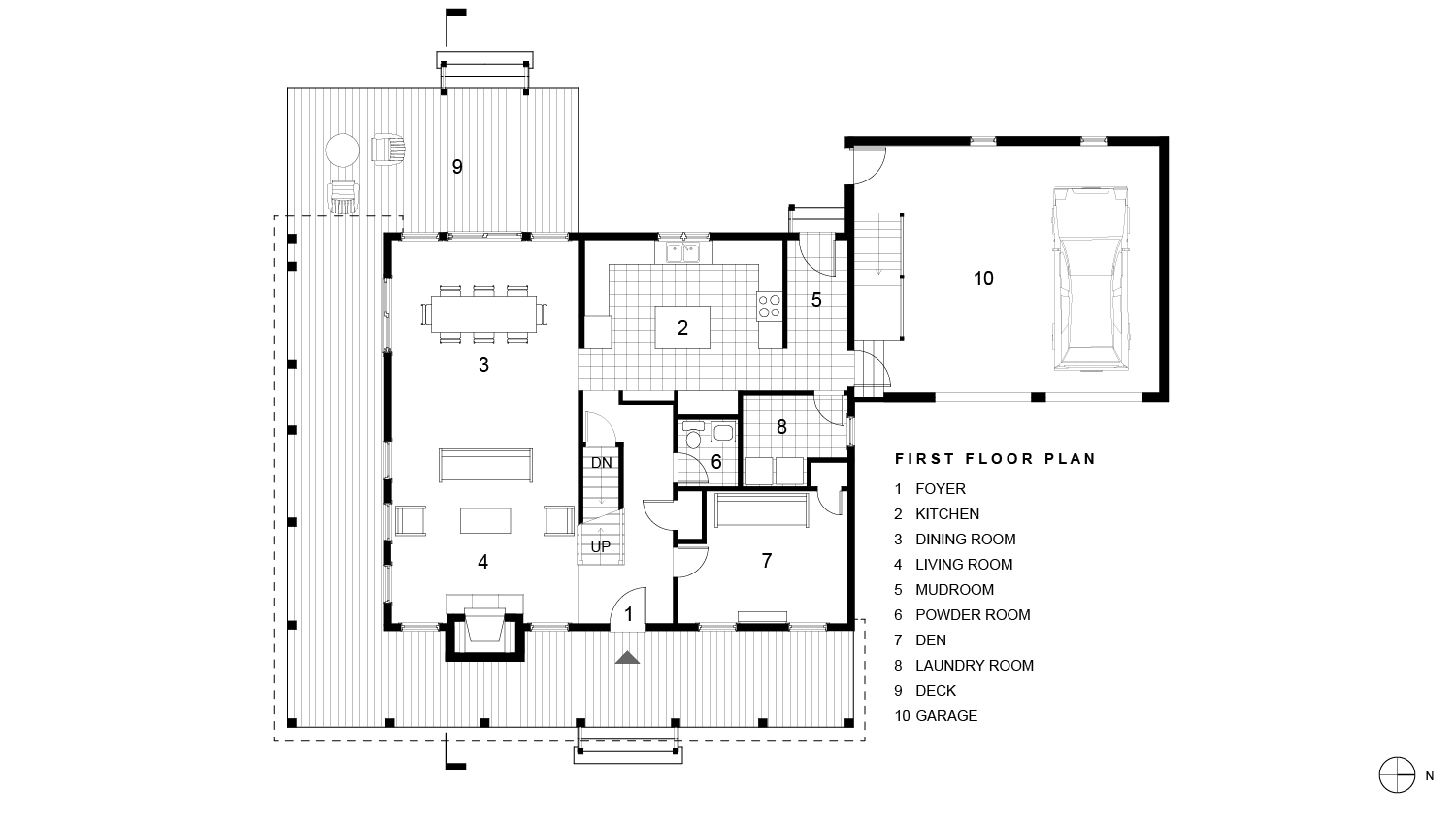 Syracuse Residence First Floor Plan