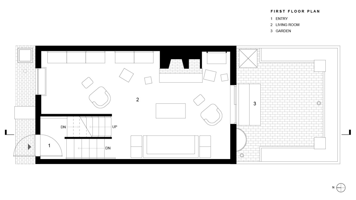 Wright Residence First Floor Plan