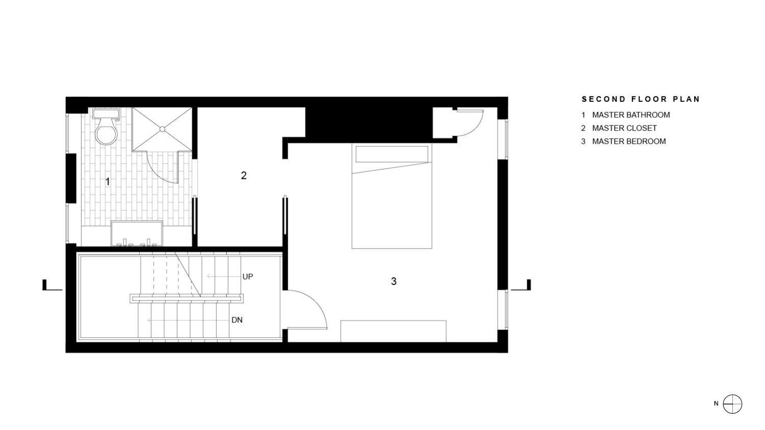 Wright Residence Second Floor Plan