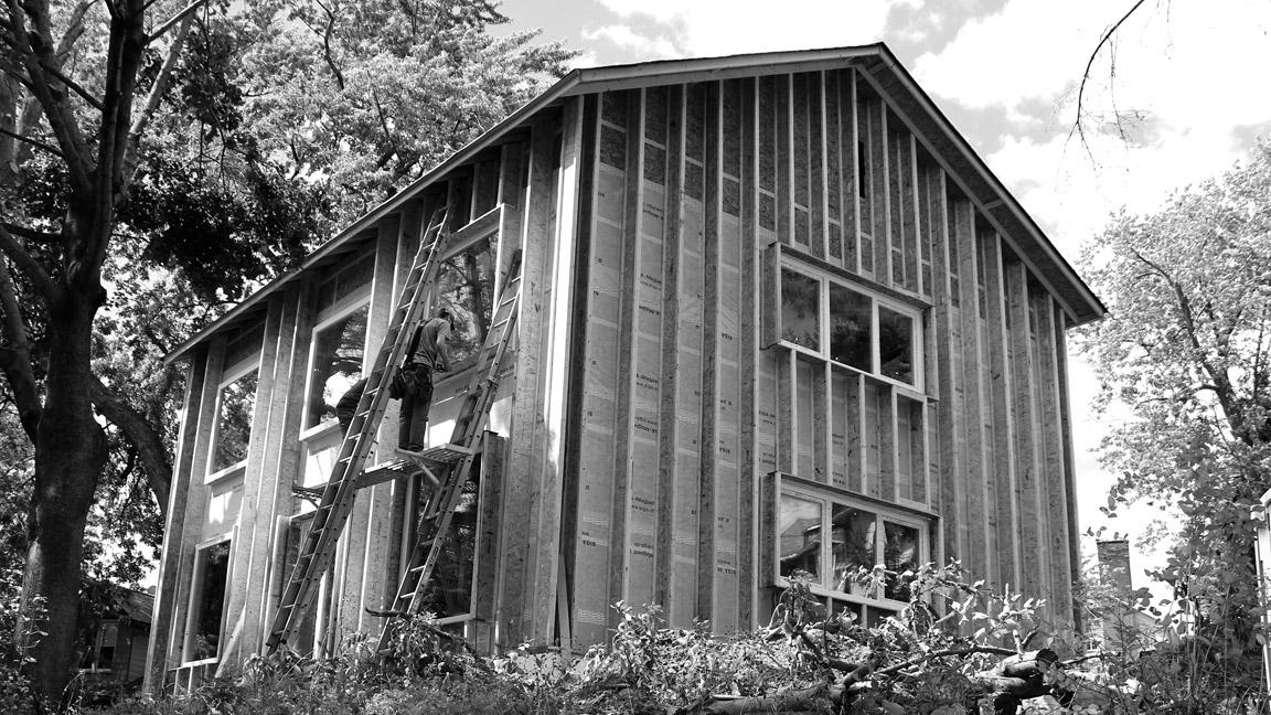 Scranton Passive House exterior