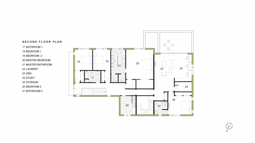Chang Second Floor Plan