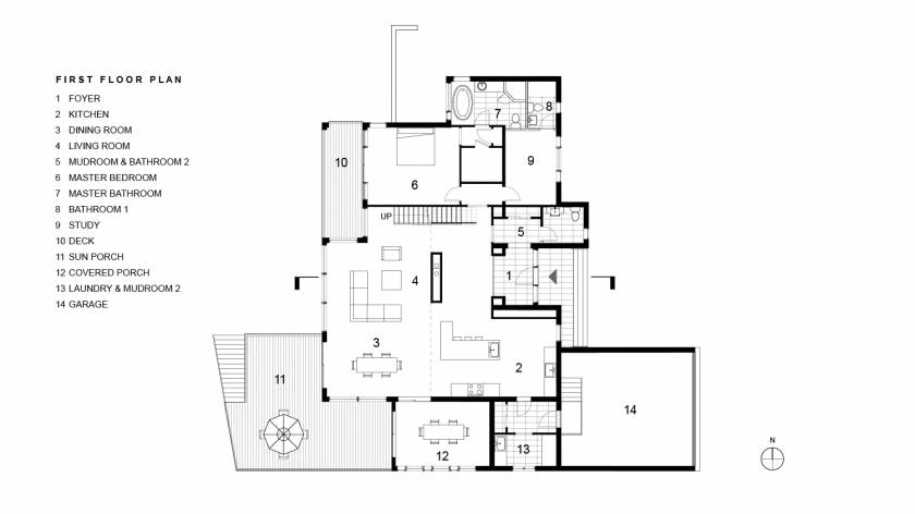 Khabensky First Floor Plan