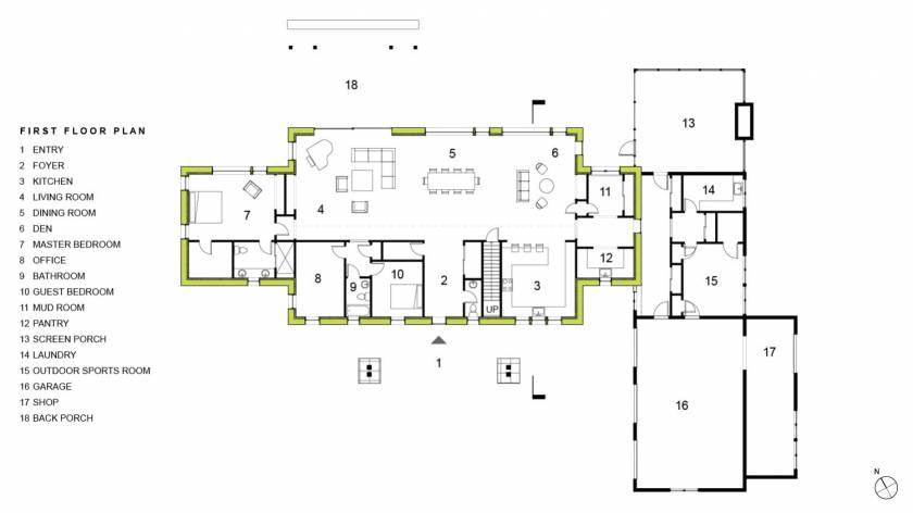 Cuffe_First Floor Plan