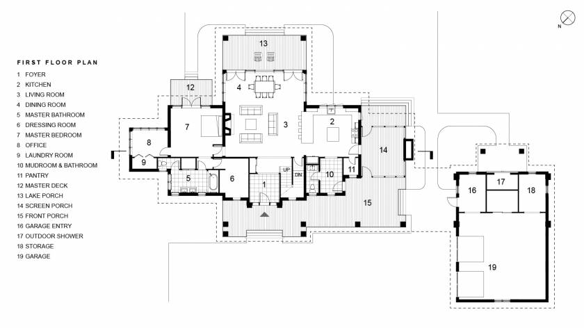 Ames First Floor Plan