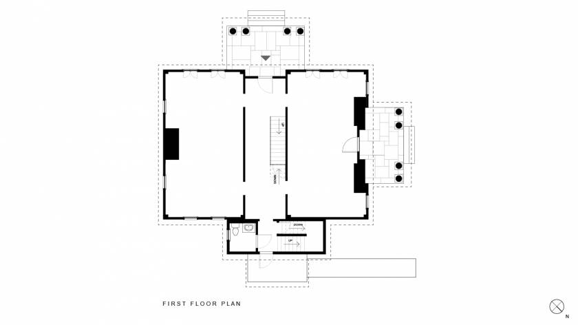 MCH First Floor Plan